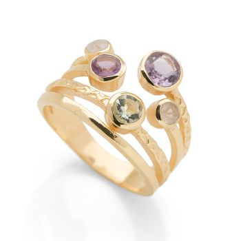 Tuscan Treasure Ring (Gold Plated)