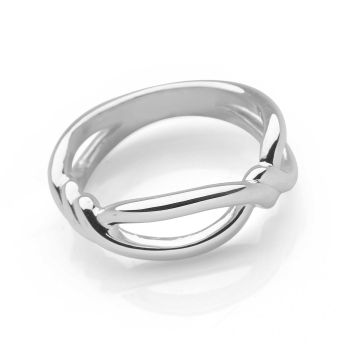 Infinity Twist Ring