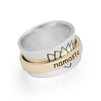 Namaste Spin Ring