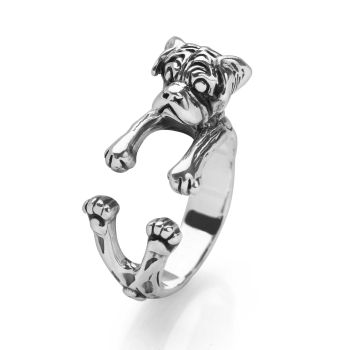 Cute Pug Ring