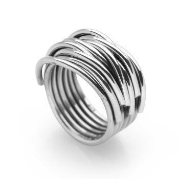 Silver Spun Ring