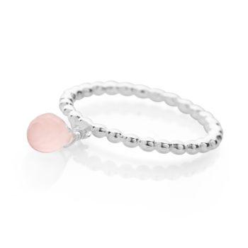 Rose Dew Drop Ring
