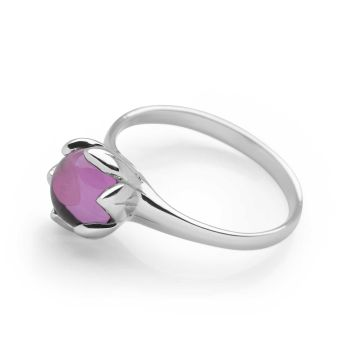 Amethyst In Bloom Ring