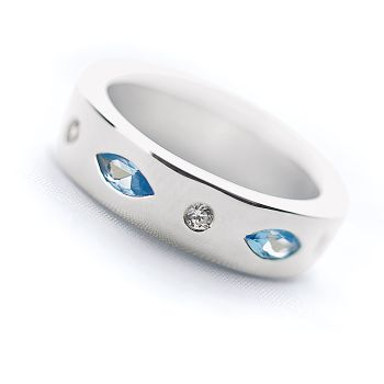 Bindi Blue Ring