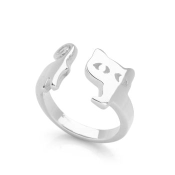 Sleek Cat Ring
