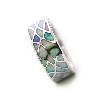 Opal Spin Ring