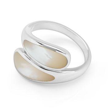 Cream Cusp Ring