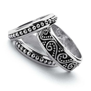 Bali Stack Ring Set (R792x2 R793)