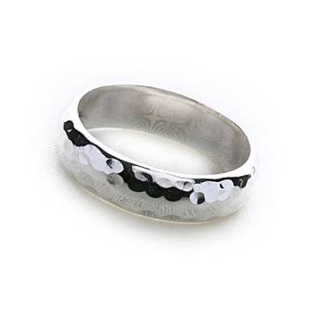 Bali Hammered Ring (Thick)