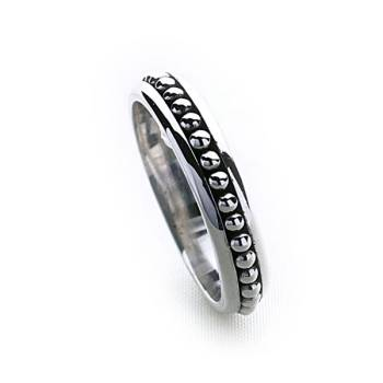 Bali Stack Ring (Thin)