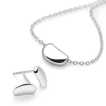 Silver Pebble Set (P426 & E2574)