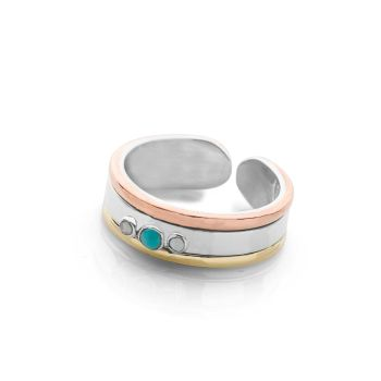 Sunset Horizon Toe Ring