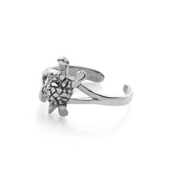 Sea Turtle Toe Ring
