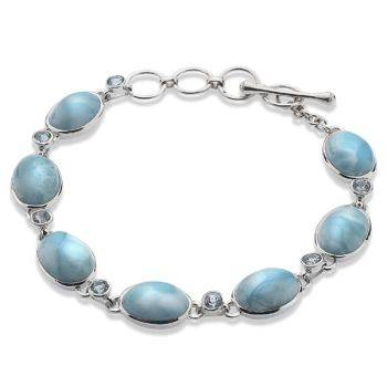 One of a Kind Larimar Bracelet