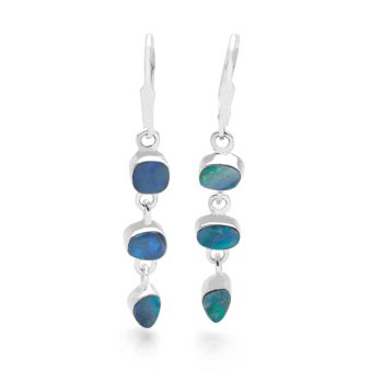 Opal Doublet Earrings
