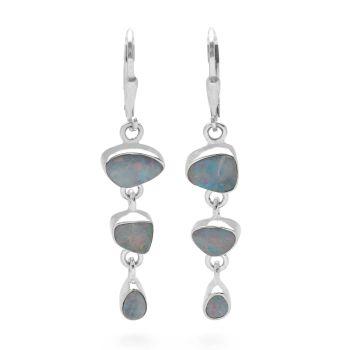 Opal Doublet Earrings