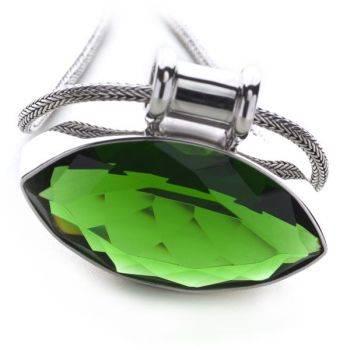 Eastern Essence Pendant (Green Obsidian)