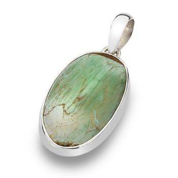 One of a Kind Variscite Pendant