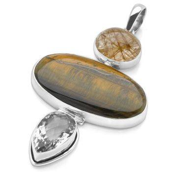 One of a Kind Tiger's Eye (Pendant Only)