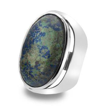 One of a Kind Azurite Ring
