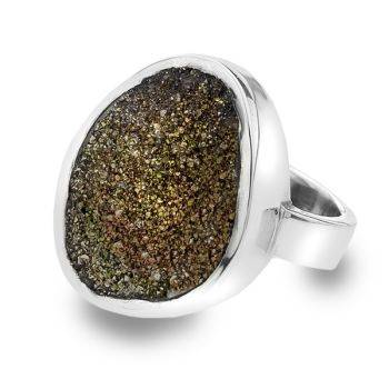 One of a Kind Druzy Ring