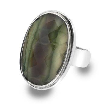 One of a Kind Imperial Jasper Ring