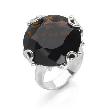 Eastern Essence Ring (Brown Obsidian)