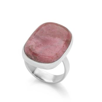 One of a Kind Rhodonite Ring