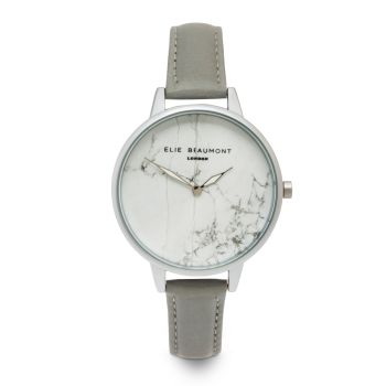 Elie Beaumont Richmond Grey Marbled Watch