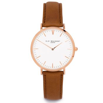 Elie Beaumont Oxford Large Camel Watch