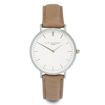 Elie Beaumont Oxford Large Dove Grey Watch