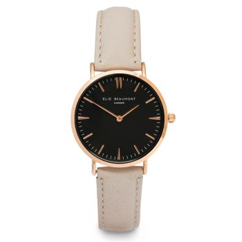 Elie Beaumont Oxford Large Stone Nappa Watch