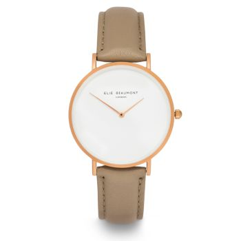 Elie Beaumont Hoxton Cappuccino Nappa Watch