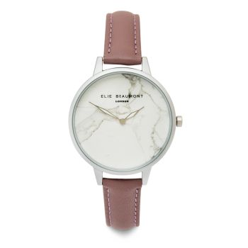Elie Beaumont Richmond Lavender Nappa Watch