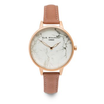 Elie Beaumont Richmond Rose Nappa Watch