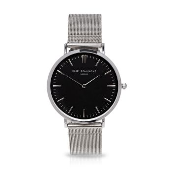 Elie Beaumont Oxford Small Silver Watch