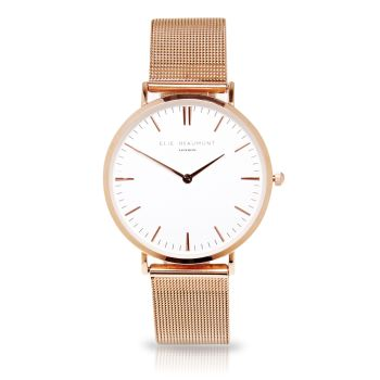 Elie Beaumont Oxford Small Rose Gold Watch