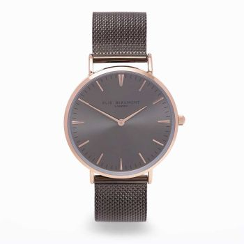 Elie Beaumont Oxford Large Two Tone Watch