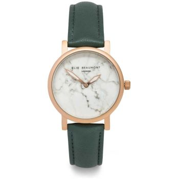Elie Beaumont Carrara Sage Nappa Watch