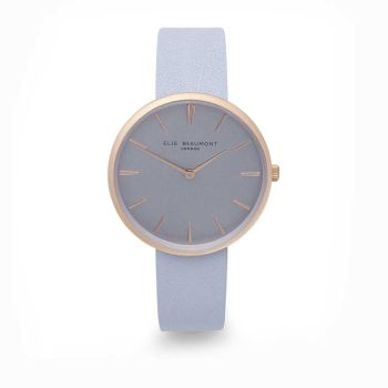 Elie Beaumont Hampstead Blue Leather Watch