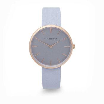 Elie Beaumont Hampstead Blue Leather Watch