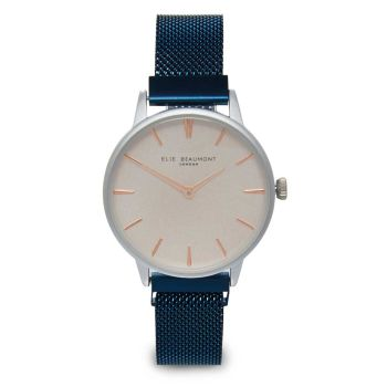 Elie Beaumont Holborn Dark Blue Magnetic Watch