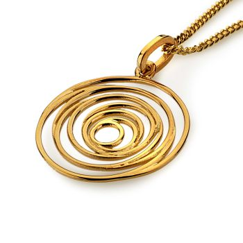 Mesmerize Pendant (14ct Gold Plate)