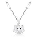 White Kitty Children's Chain