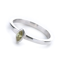 Le Stack Ring Marquise (Peridot)