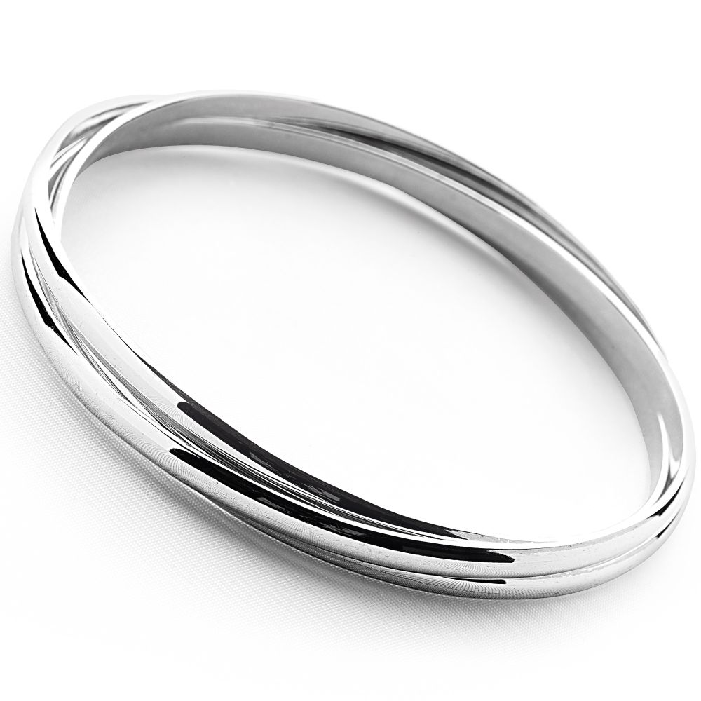bangles pandora mall sterling bracelet bangle charm of silver
