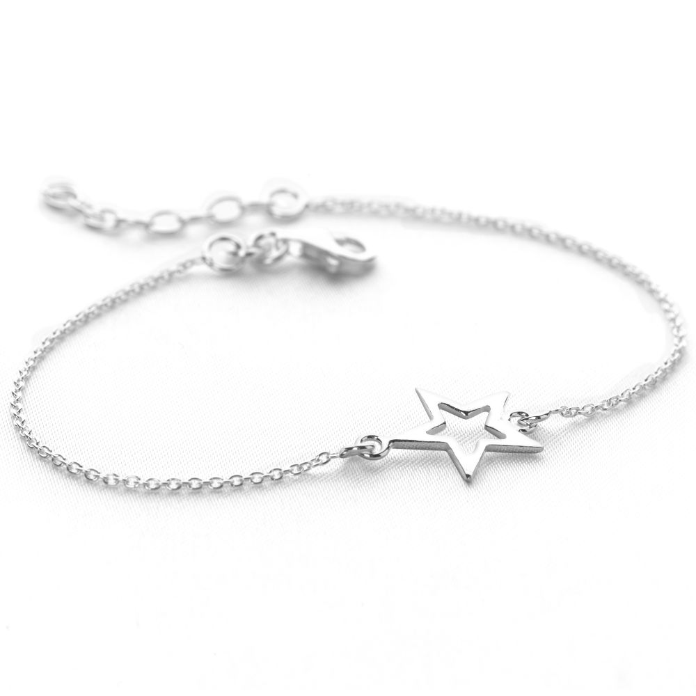 gold in silver angel bracelets bracelet the