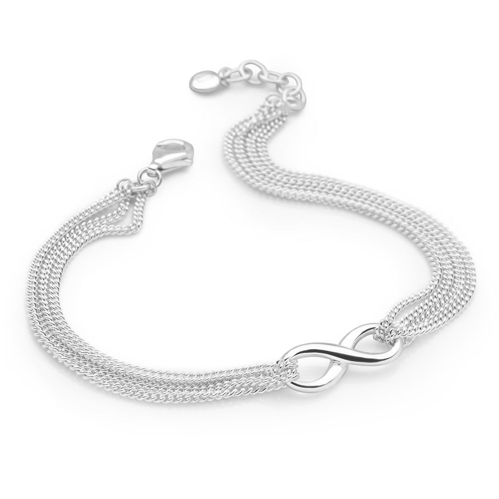 Buy Infinity Silver bracelets pictures trends
