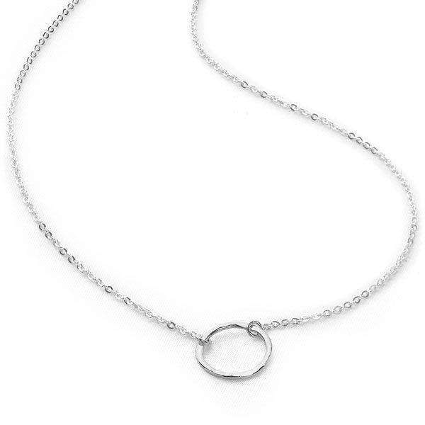 Sterling silver necklaces from silver by mail silver by mail hugs chain aloadofball