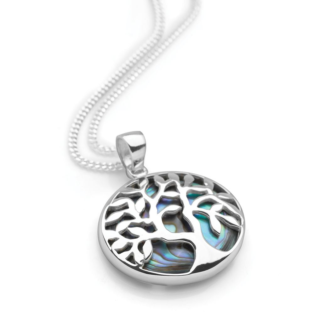 of in tree silver pendant life sterling lockets